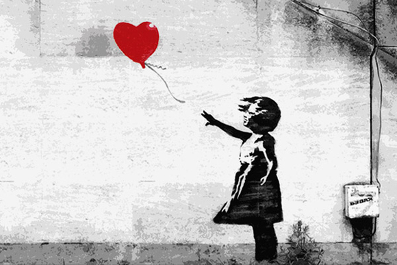Banksy Girl with Balloon Meaning