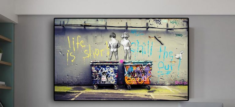 Life is Short Chill the Duck Out on canvas